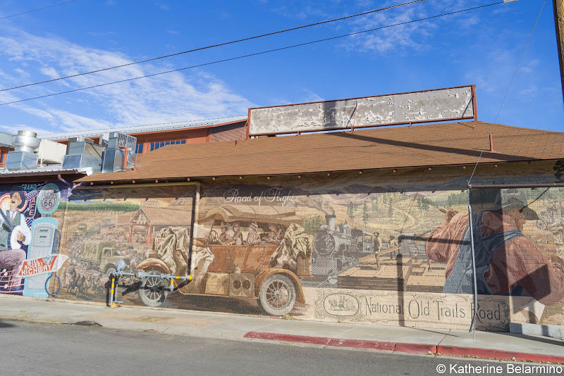 Phoenix Avenue Route 66 Mural Things to Do in Flagstaff in One Day