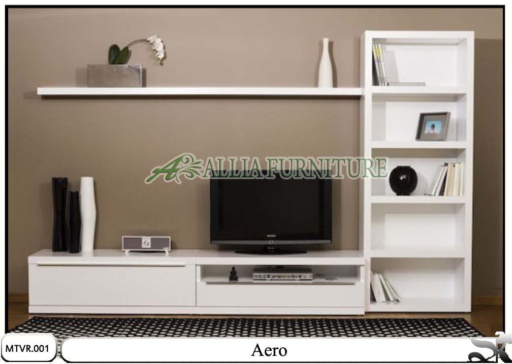 Meja tv lcd rak minimalis aero - Allia Furniture