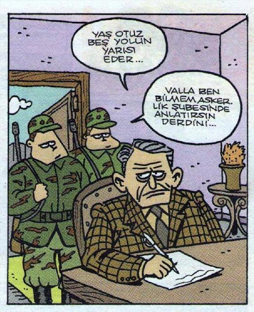yaş otuz beş karikatür