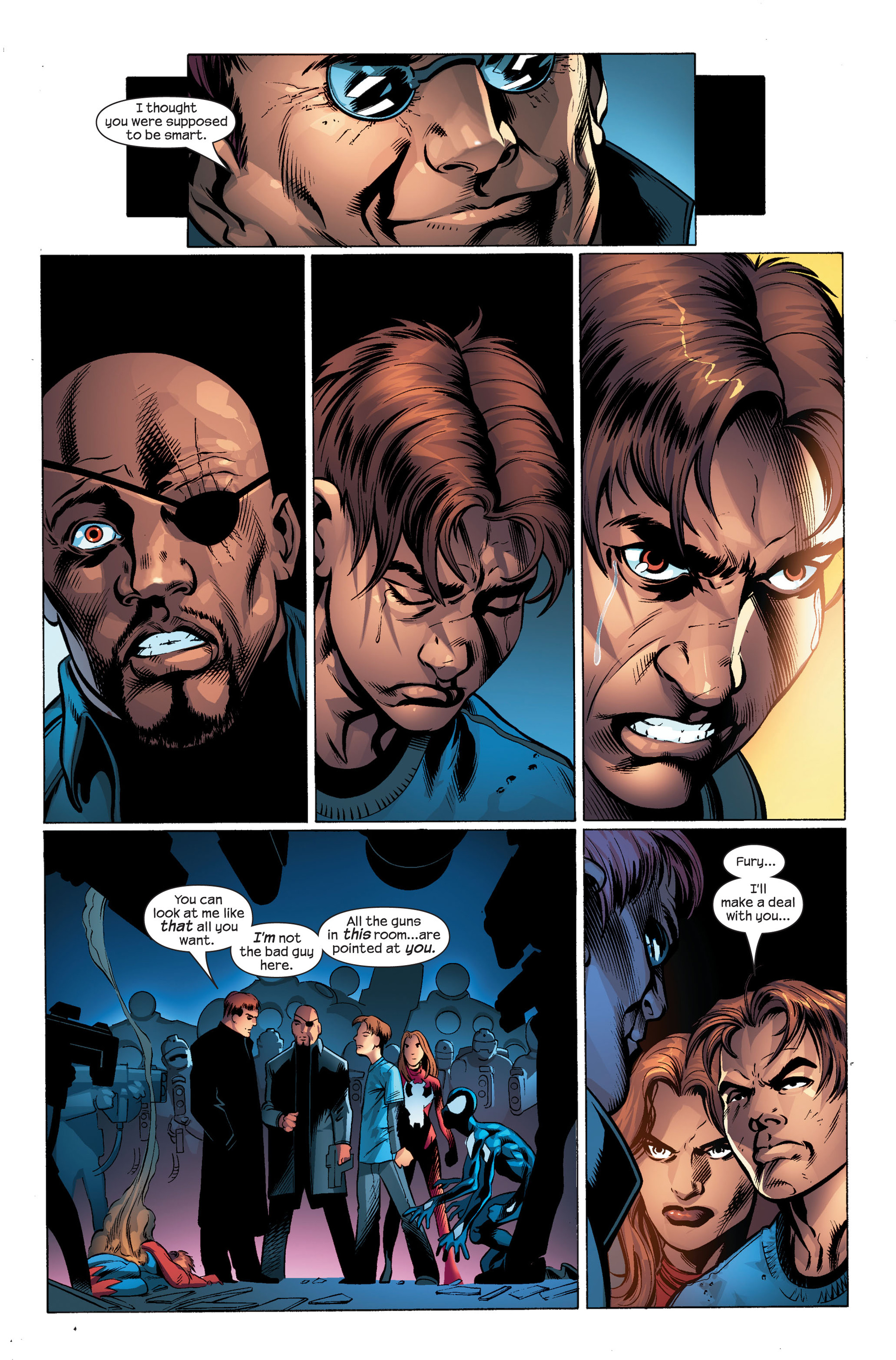 Read online Ultimate Spider-Man (2000) comic -  Issue #103 - 16