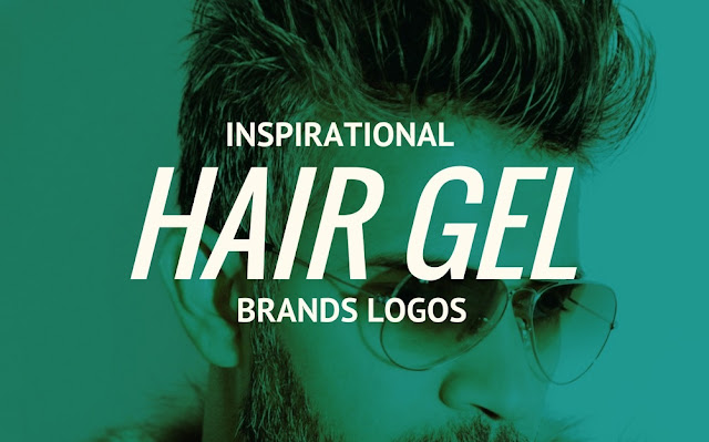 hair gel brands logos collection