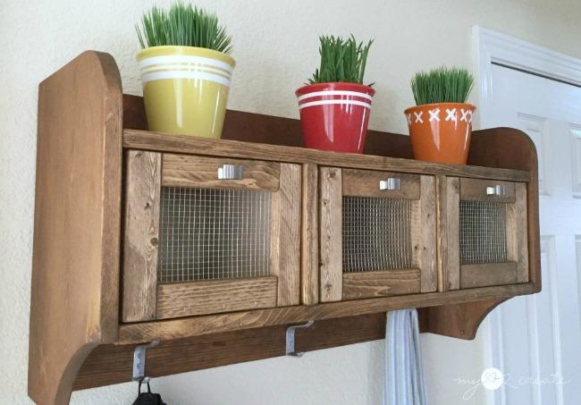 Hanging Storage Shelf, MyLove2Create