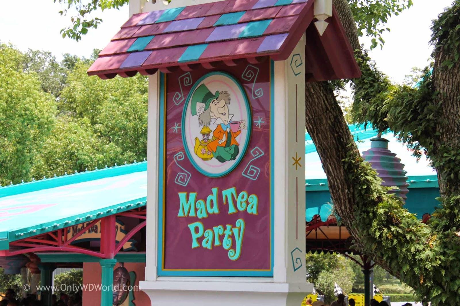 mad tea party disney world classic attraction disney