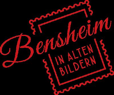"""Neues Logo von """"Bensheim in alten Bildern"""", gestaltet durch Sabrina Blume, showmaker.tv, Bensheim, 2015"""