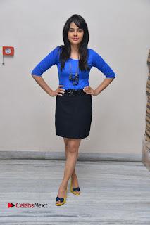Actress Nandita Swetha Stills in Black Mini Skirt at Ekkadiki Potavu Chinnavada Movie Special Show  0062.JPG
