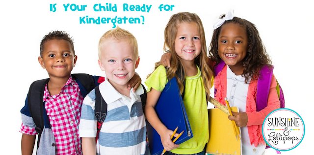 A question that many parents of almost kindergarten aged child ask is: How do I know if my child is ready for Kindergarten? Take a look at this Checklist and see if your little one is ready for the Kindergarten journey!
