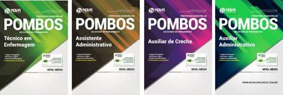 Apostila Concurso Prefeitura de Pombos 2017