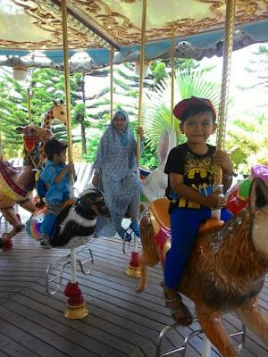 Seru-Seruan di Jatim Park 2 Batu, Malang