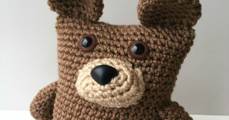 Amigurumi Teddy Bear Free Patterns : 5 little monsters: boxy bear