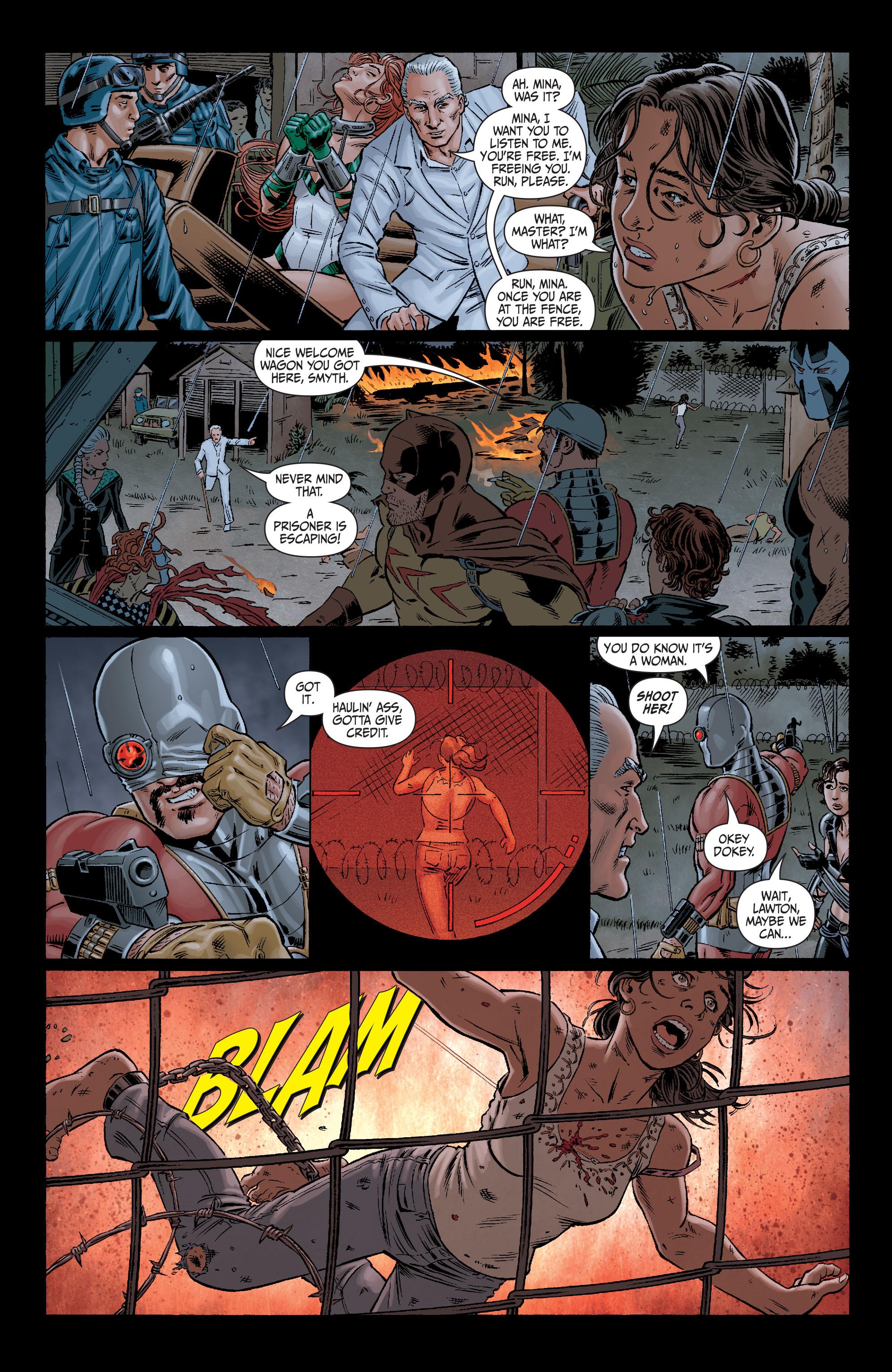 Read online Secret Six (2008) comic -  Issue #10 - 22