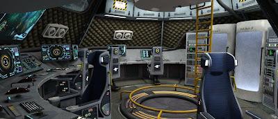 MV Stella Command Deck
