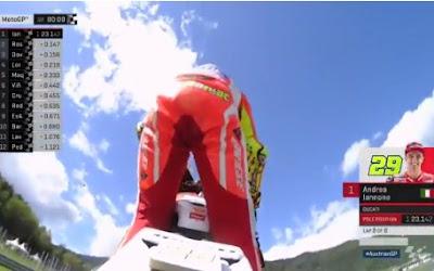 Hasil Lengkap Kualifikasi MotoGP Red Bull Ring, Austria 2016