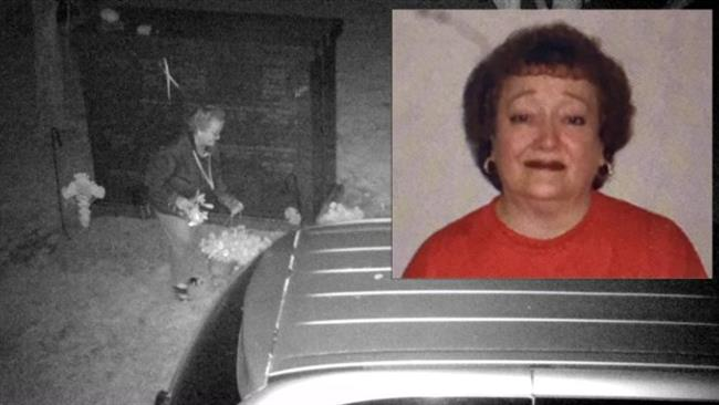 US flower shop owner Lynda Wingate steals plants from cemetery