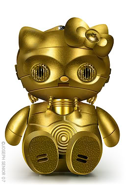 Hello Kitty - C3P-O
