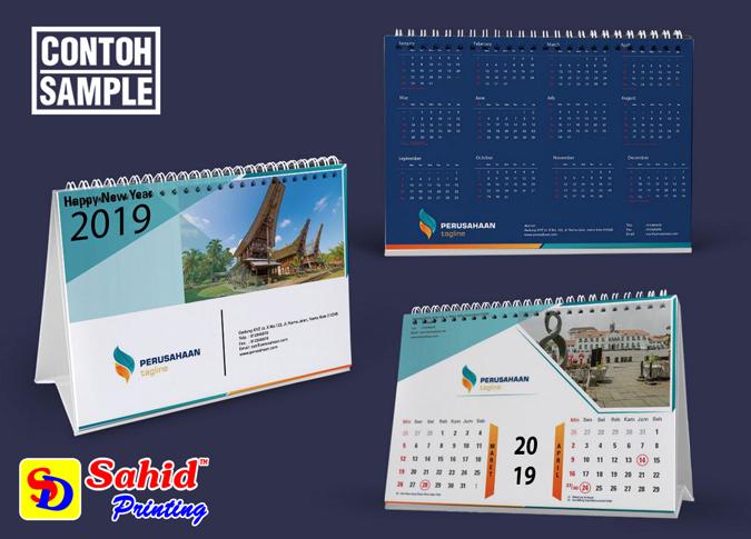Cetak Kalender Tahunan Murah Bisa Satuan 24 Jam Jakarta Timur