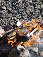Swedish coffee on the lake shore in Jamtland with Appetit Voyage