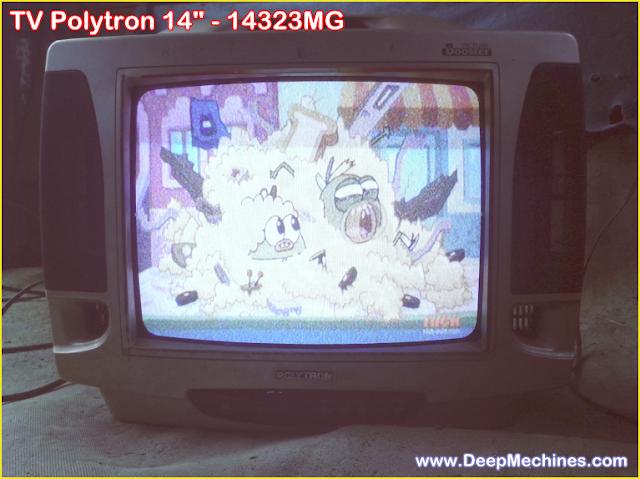 TV Polytron  14-Inc (14323MG) pada Layar muncul BlankingSelesai di Perbaiki