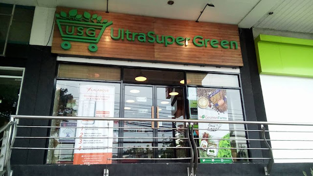 Ultra Super Green Store Visit - Blogging and Social Media Case Study