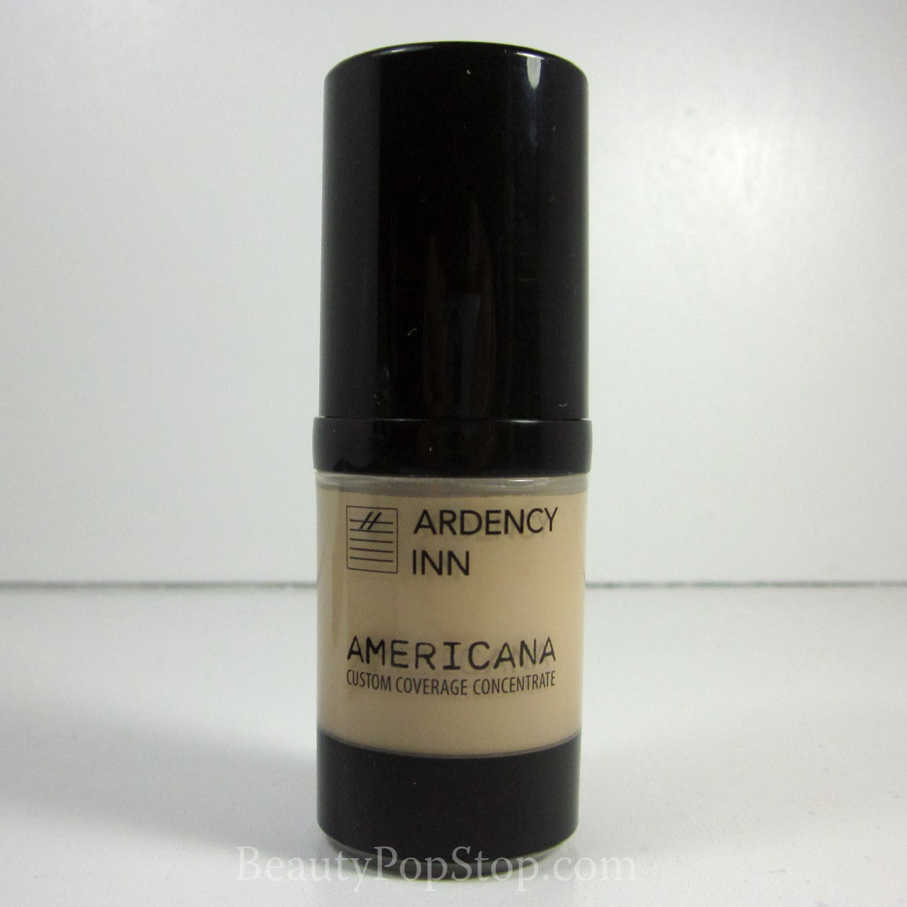 Ardency Inn Americana custom coverage concentrate in light golden beige swatches and review
