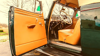 1938 Packard Six Luxury Convertible Interior
