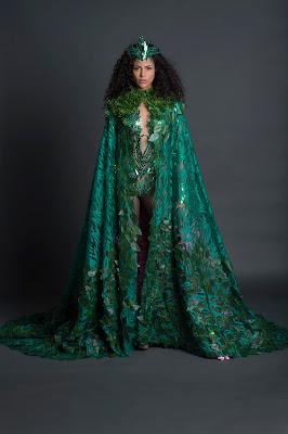 O traje típico da Miss Brasil Be Emotion 2017 Monalysa Alcântara - Foto: Marcelo Soubhia/Divulgação
