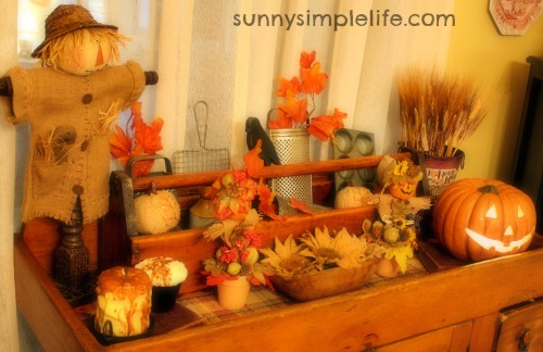 autumn decor, harvest, prim