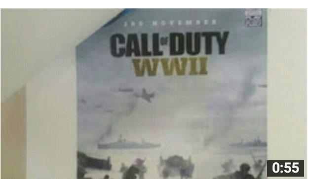 Call of Duty WWII se lanzaría el 3 de noviembre
