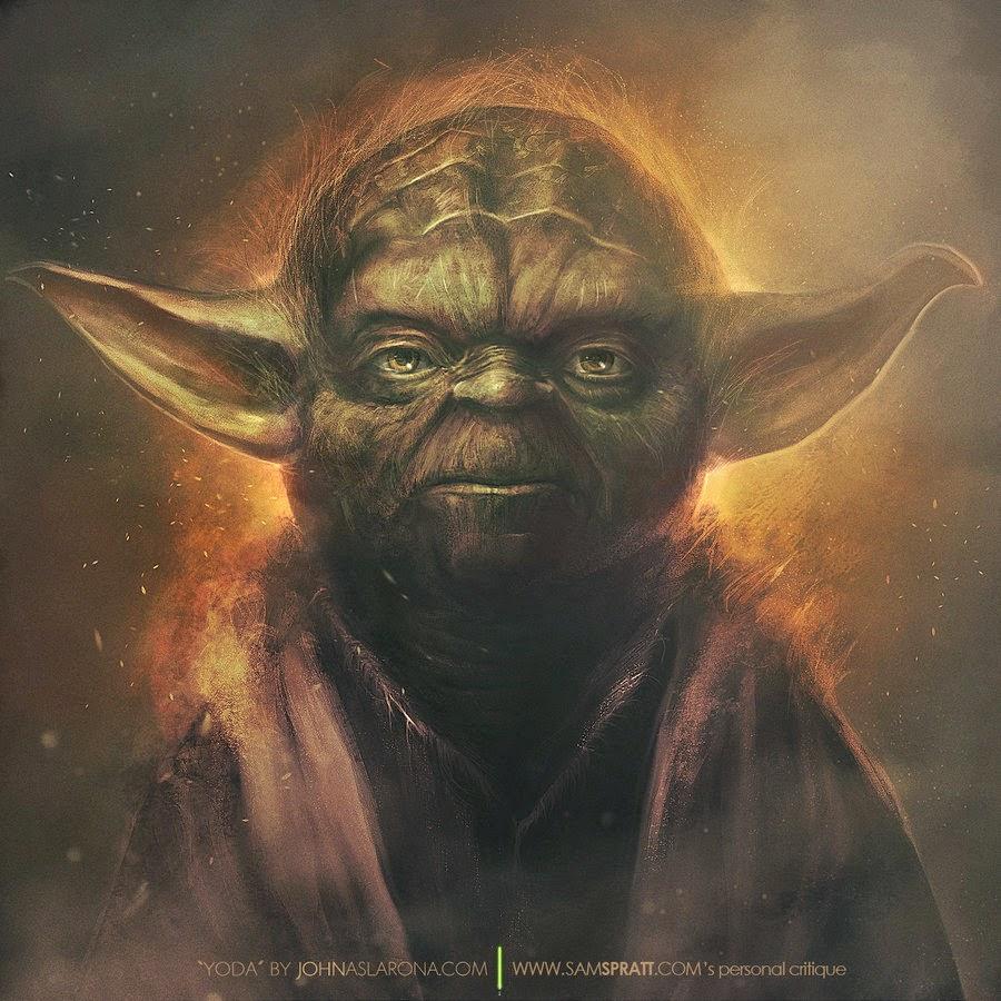 Yoda by PhotoshopIsMyKung-Fu in DeviantArt.com