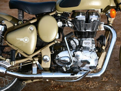Latest Royal Enfield Classic 500 Desert Storm engine image