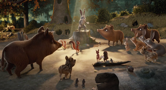 Latte and the Magic Waterstone (2019) Dual Audio [Hindi-DD5.1] 720p BluRay ESubs Download