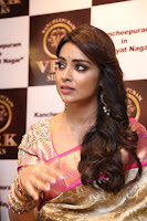 Actress Shriya Saran Stills in Saree at VRK Silks Launches at Himayat Nagar  0012.JPG