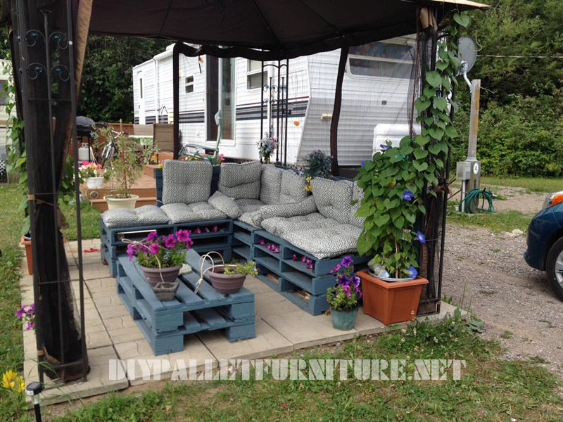 Decorar Jardin Con Palets Stunning Muebles De Jardin Con Palets - Decorar-jardines-con-palets