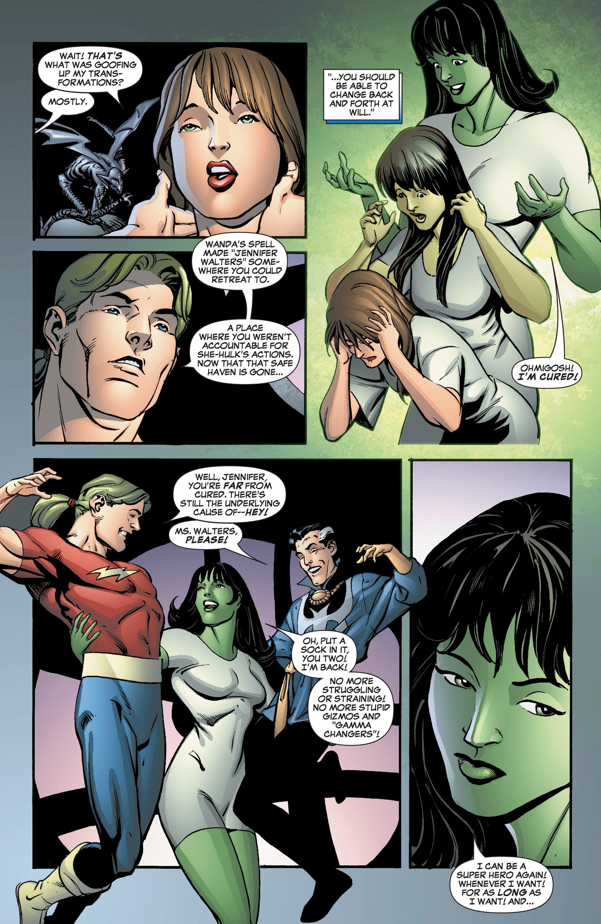 Read online She-Hulk (2005) comic -  Issue #8 - 5