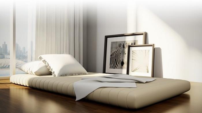japon tarzı futon yer yatağı