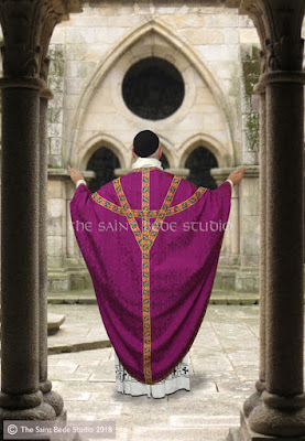 Purple vestments