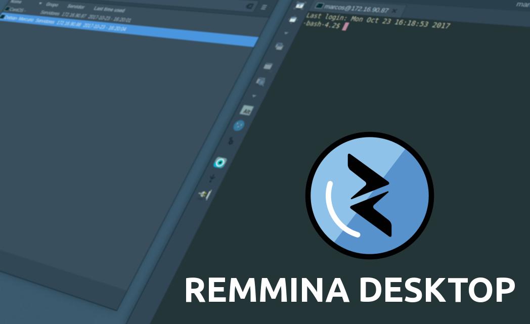 Remmina Desktop -Aplicação de acesso remoto para Linux