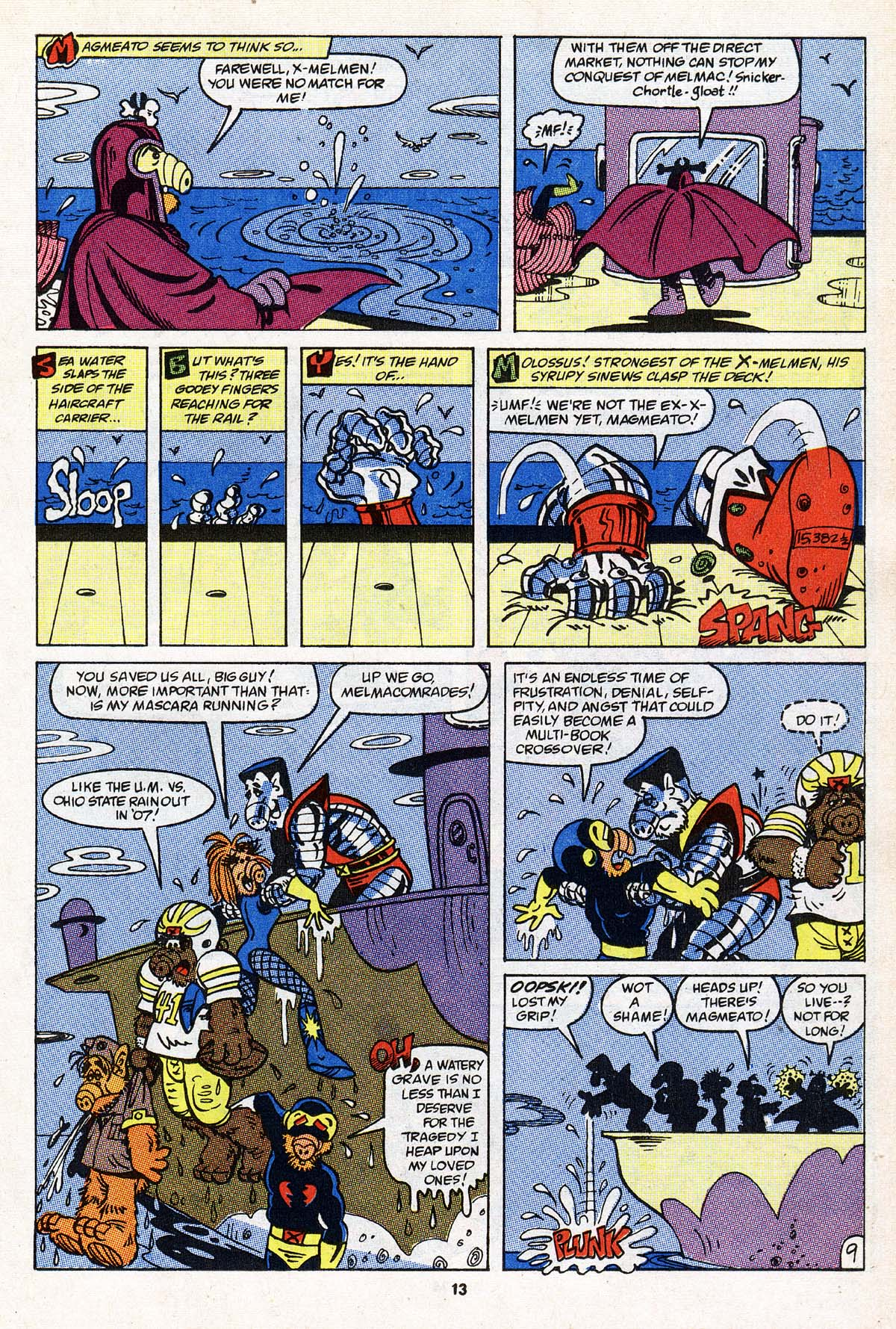 Read online ALF comic -  Issue #22 - 10