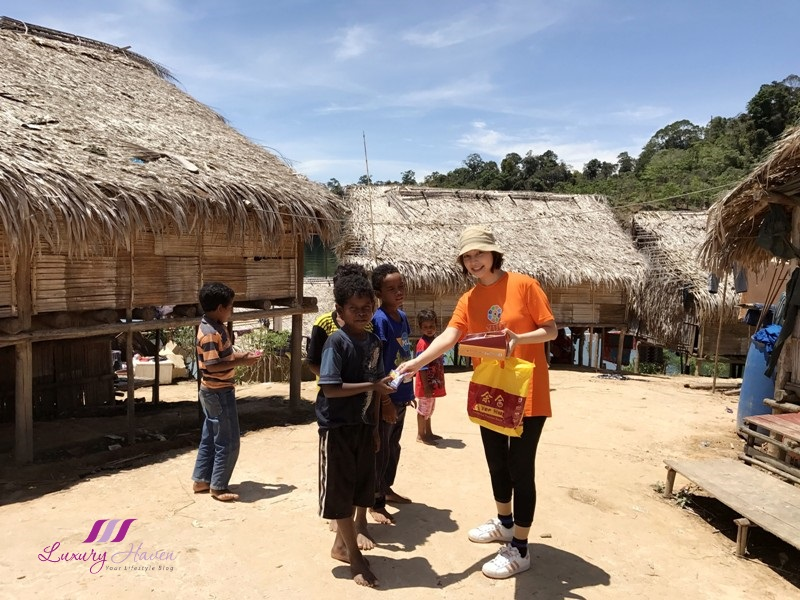 luxury haven lifestyle influencer explores orang asli village