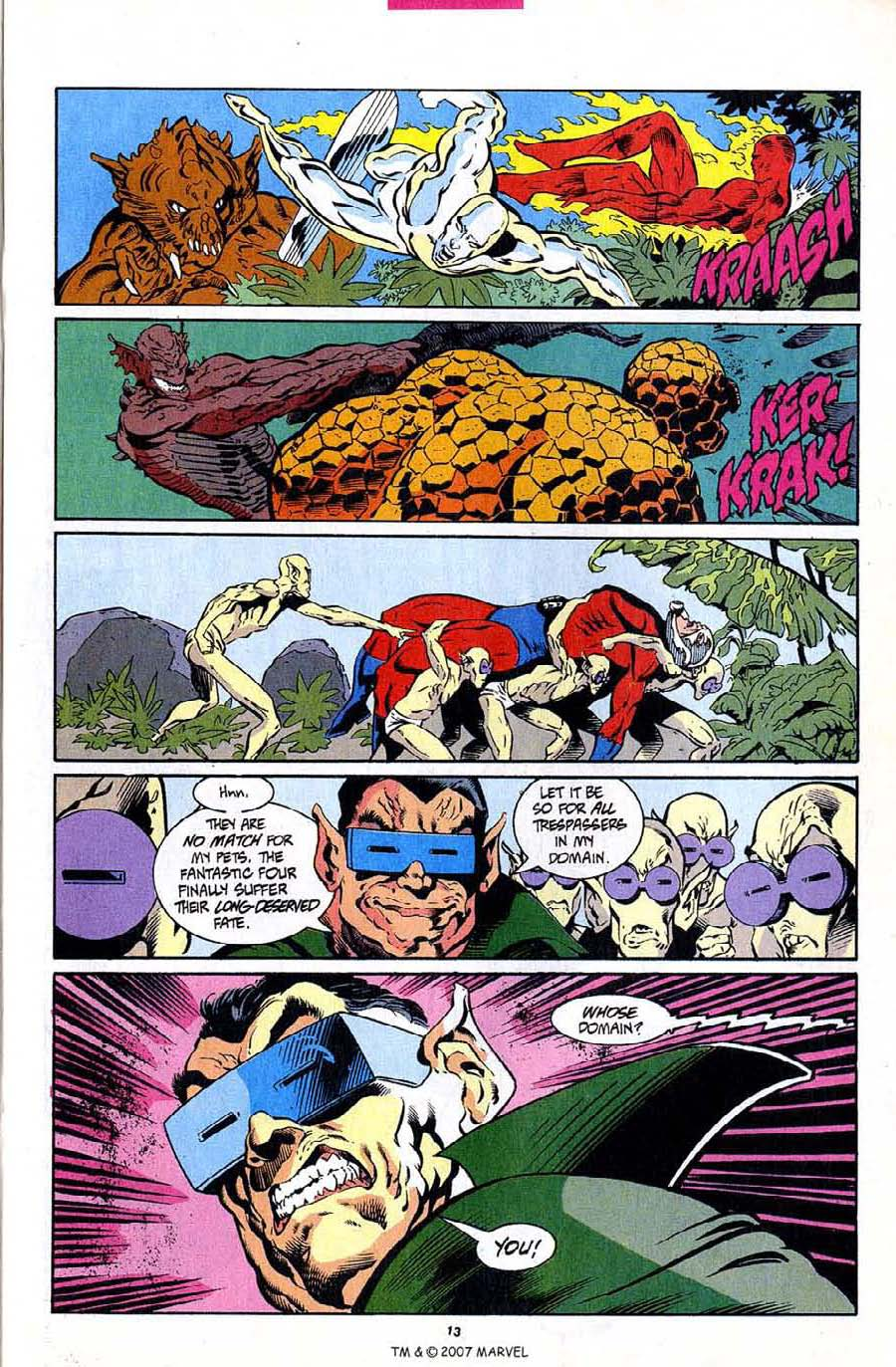 Read online Silver Surfer (1987) comic -  Issue #94 - 15