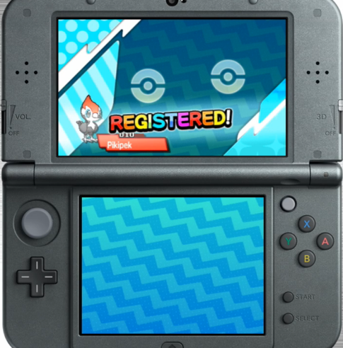 Pokémon Sun Moon Pikipek registered PokéDex new flying type