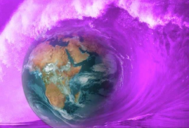 medytuj w fioletowym plomieniem