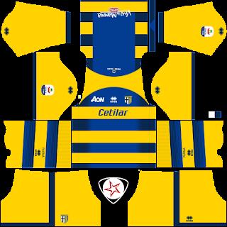 SSD Parma Calcio 2018 - 2019 Away Kit