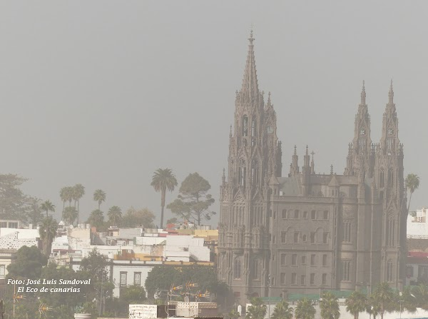 La calima en Canarias hasta el lunes 21 de marzo