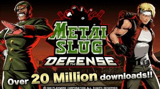 game android terbaik terpopuler metal slug