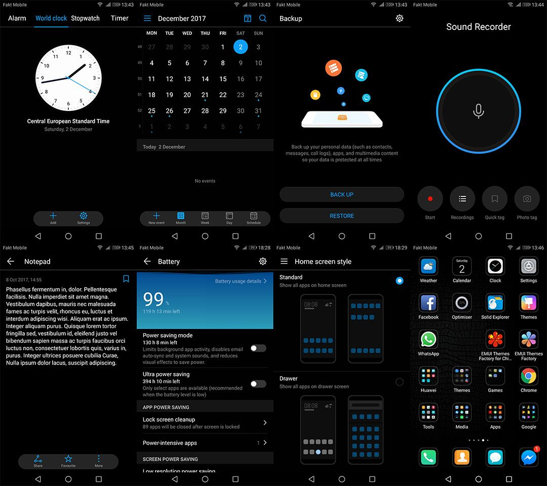 Download Mate 10 Pro Dark Mode for ALL EMUI 5/5 1/8 devices