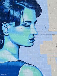 wonderwalls 2017 - blue woman, zedr_one
