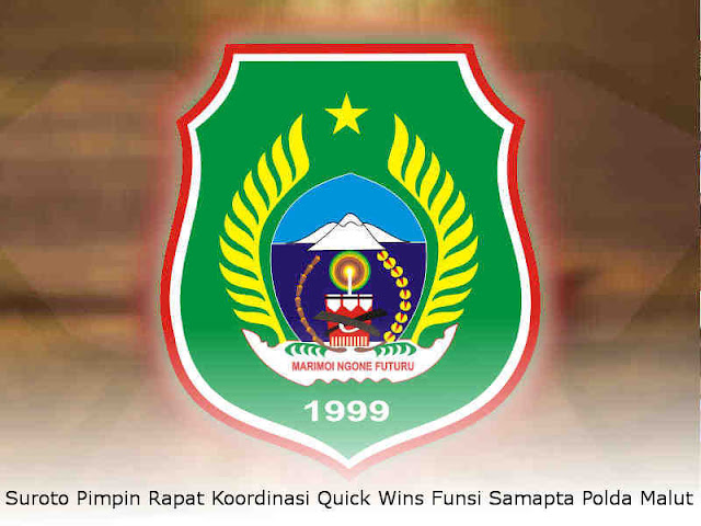 Suroto Pimpin Rapat Koordinasi Quick Wins Fungsi Samapta Polda Malut
