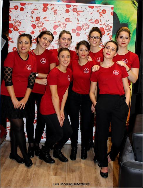 Weleda Bioty Tour à Nancy (novembre 2015) - Étudiantes de l'École EMA de Nancy - Les Mousquetettes©