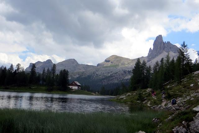escursione croda da lago