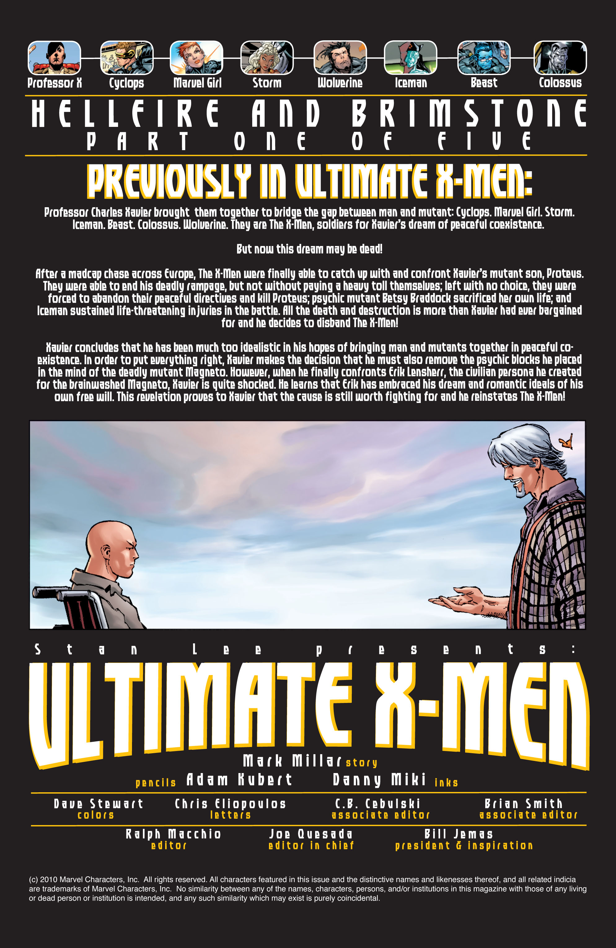 Read online Ultimate X-Men comic -  Issue #21 - 2